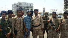ابو اليمامة يتفقد عدد من النقاط الأمنية المشاركة في تأمين مليونية 21 مايو بعدن