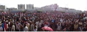 حشد جنوبي غير مسبوق في العاصمة عدن تأييدا للمجلس الانتقالي الجنوبي