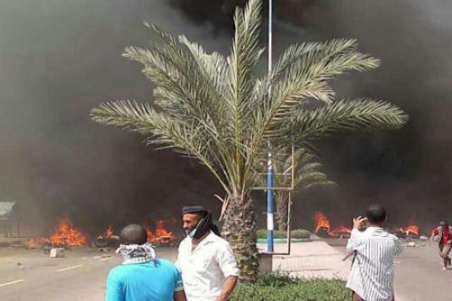 15 شهيدا و63 جريحاً حصيلةً  مجزرة يوم الكرامة بساحة العروض في مدينة خور مكسر بعدن الخميس 21فبراير 2013م