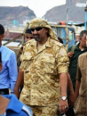 """اللواء  الزبيدي يعزي """" أحمد وبسام المحضار""""  في استشهاد شقيقهما ياسين"""