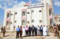 اللواء الزُبيدي يفتتح مقر المجلس الانتقالي الجنوبي في حضرموت