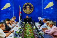 اجتماع برئاسة الزبيدي يناقش ترتيبات أولى اجتماعات الجمعية الوطنية بعدن