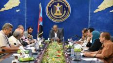 اجتماع برئاسة الزبيدي يناقش ضوابط الجمعية الوطنية وتقريري الدائرتين الإعلامية والثقافية