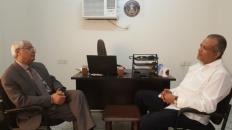 مناقشة التنسيق بين الدائرة الإعلامية والعلاقات الخارجية للمجلس الانتقالي بأمريكا