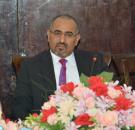 الرئيس الزبيدي يصدر قراراً بشأن انتخاب رؤساء ونواب اللجان الدائمة للجمعية الوطنية