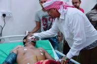 الرئيس الزُبيدي يزور جرحى المقاومة الجنوبية وألوية الحماية الرئاسية بمستشفى باصهيب العسكري