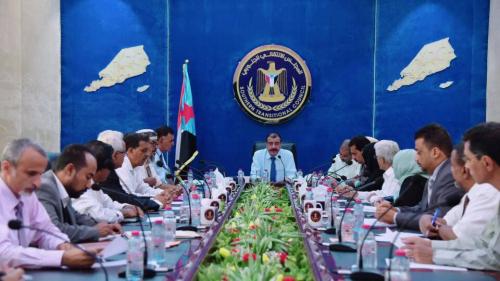 الهيئة الإدارية للجمعية الوطنية للمجلس الانتقالي الجنوبي تعقد اجتماعها الأول في العاصمة عدن