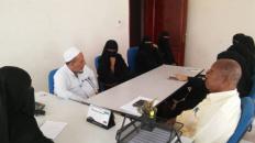 العطاس يلتقي بقيادة اتحاد نساء حضرموت