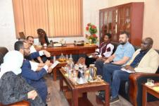 نائب رئيس هيئة رئاسة المجلس الانتقالي الجنوبي يستقبل ممثلي مكتب المبعوث الخاص إلى اليمن