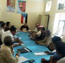 القيادة المحلية للمجلس الانتقالي الجنوبي بمحافظة الضالع تناقش تقريرها العام