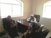 رئيس الدائرة الجماهيرية بالمجلس يلتقي برئيسة اتحاد نساء اليمن