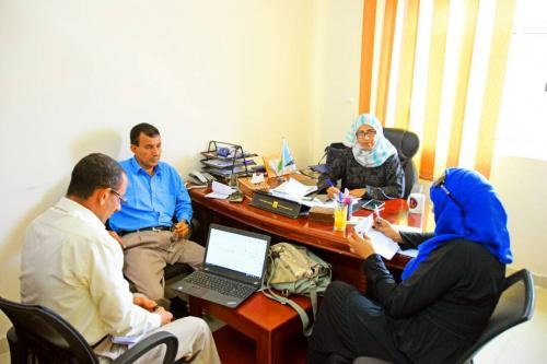 دائرة حقوق الانسان في المجلس الانتقالي الجنوبي تلتقي مسؤولة حقوق الانسان في مكتب المفوضية السامية بالامم المتحدة