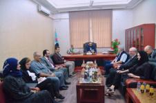 نائب رئيس المجلس الانتقالي الجنوبي يستقبل فريق الخبراء الدوليين التابع للأمم المتحدة