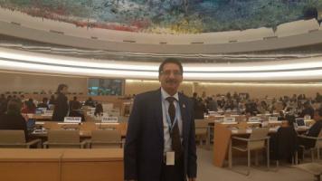 ممثل دائرة حقوق الإنسان في المجلس الانتقالي الجنوبي يدعو مجلس الأمم المتحدة لحقوق الإنسان إلى وضع خارطة طريق لاستعادة دولة الجنوب