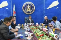 الأمين العام للمجلس الانتقالي الجنوبي يستقبل ممثلين عن مكتب الأمم المتحدة في العاصمة عدن