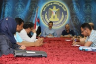 الأمين العام للمجلس الانتقالي الجنوبي يناقش خطة نشاط محافظة لحج مع قيادتها المحلية