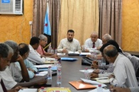 اجتماع للقيادة المحلية ورؤساء المديريات في العاصمة عدن للاستعداد لحفل إعلان عدن التاريخي