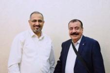 الرئيس الزُبيدي يستقبل رئيس الجمعية الوطنية للمجلس اللواء أحمد بن بريك العائد من جمهورية مصر العربية