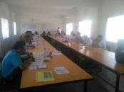 إدارة التخطيط والتنمية في القيادة المحلية للمجلس بالضالع تقيم ورشة عمل للقيادات في المديريات