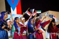 اختتام فعاليات الاحتفال بذكرى إعلان عدن التاريخي وتأسيس المجلس بمباراة كروية وحفل فني