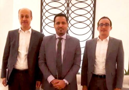 الحالمي يلتقي مساعد المبعوث الأممي إلى اليمن