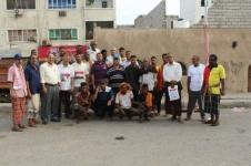 مديرية المعلا تشهد حملة نظافة برعاية من المجلس الانتقالي الجنوبي