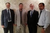 عضو دائرة العلاقات الخارجية للمجلس الانتقالي عادل الشبحي يلتقي مسؤول ملف اليمن بوزارة الخارجية الأمريكية