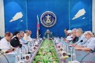 الرئيس الزُبيدي يرأس اجتماعاً استثنائياً لهيئة رئاسة المجلس الانتقالي الجنوبي