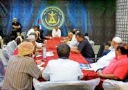 الهيئة الإدارية للجمعية الوطنية للمجلس الانتقالي الجنوبي تناقش اللمسات الأخيرة لانعقاد الدورة الأولى للجمعية