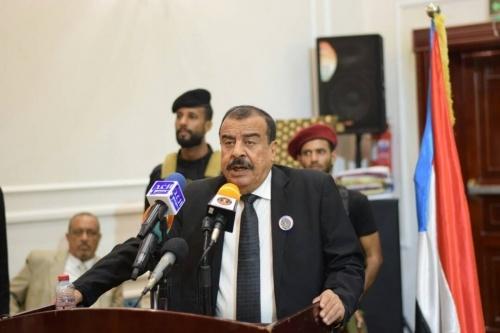 عاجل: نص كلمة رئيس الجمعية الوطنية اللواء أحمد بن بريك في مستهل انعقاد الدورة الأولى للجمعية