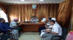 القيادة المحلية للمجلس في حضرموت تناقش الملف الأمني و احتياجات مديرية القطن