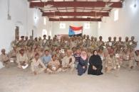 دائرة حقوق الإنسان تختتم ورشة الإعداد النفسي والذهني لجنود اللواء الأول مشاة