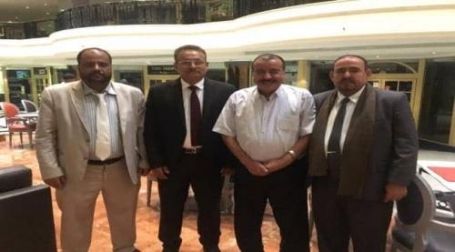 رئيس الجمعية الوطنية اللواء بن بريك يلتقي بقيادات الجالية الجنوبية بالمملكة العربية السعودية ودول الخليج