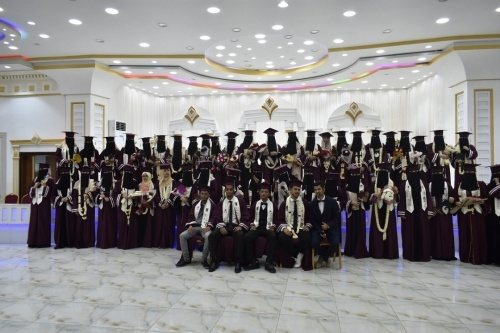 برعاية المجلس الانتقالي.. الدفعة 47  قسم كيمياء تحتفل بتخرجها من كلية التربية جامعة عدن
