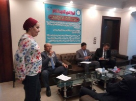 توقيع مذكرة تعاون بين المجلس الانتقالي والمركز العربي بالقاهرة لتأهيل الشباب الجنوبيين في عدة مجالات