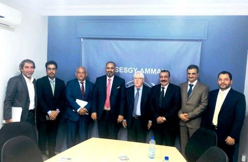 الرئيس الزُبيدي يعقد لقاءً هاماً مع المبعوث الأممي في عمّان، بالمملكة الأردنية الهاشمية