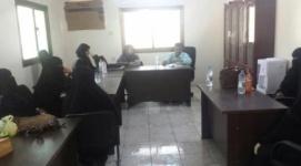 القيادة المحلية لانتقالي لحج تعقد لقاءاً موسعاً مع القيادات النسوية في الحوطة وتبن