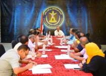 الأمانة العامة تناقش المواضيع المتعلقة بسير عمل دوائرها وتقف أمام القضايا ذات الصلة بالشأن الجنوبي
