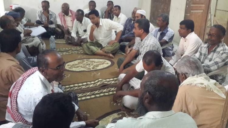 انتقالي تريم يعقد اجتماعاً استثنائياً ويتخذ عدداً من الإجراءات لدعم الانتفاضة الشعبية