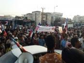 مهرجان جماهيري حاشد بالمهرة تأييداً للبيان التاريخي للمجلس الانتقالي