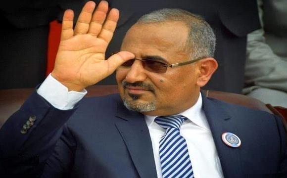 الرئيس القائد عيدروس الزُبيدي يعود إلى العاصمة عدن