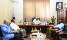 الرئيس القائد يلتقي مدير مكتب المبعوث الاممي الخاص باليمن