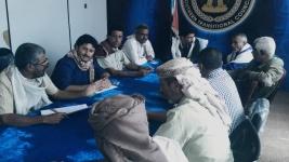 الهيئة التنفيذية لانتقالي شبوة تعقد اجتماعها الدوري برئاسة باعوضة