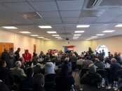 الشيخ هاني بن بريك يعقد لقاء مهما مع ابناء الجنوب في بريطانيا