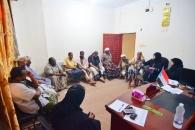 """لجنة إغاثة منكوبي إعصار """"لبان"""" تواصل عقد اجتماعاتها في المهرة"""