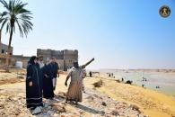 """فرق حملة إغاثة منكوبي """"لبان"""" تباشر نزولاتها الميدانية بمحافظة المهرة"""