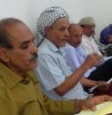 قيادة انتقالي دار سعد تلتقي بعدد من الشخصيات الاجتماعية والمواطنين من حي البساتين