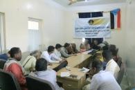 الدائرة الإعلامية بالمجلس الانتقالي تعقد لقاءً تشاورياً لأعلاميي محافظة أبين ومديرياتها