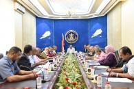 هيئة الرئاسة تعقد اجتماعها الدوري وتناقش تقارير الاداء لعدد من ادارات المجلس