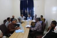 الدائرة التنظيمية تواصل زياراتها التفقدية وتعقد اجتماعا تنظيميا في محافظة ابين